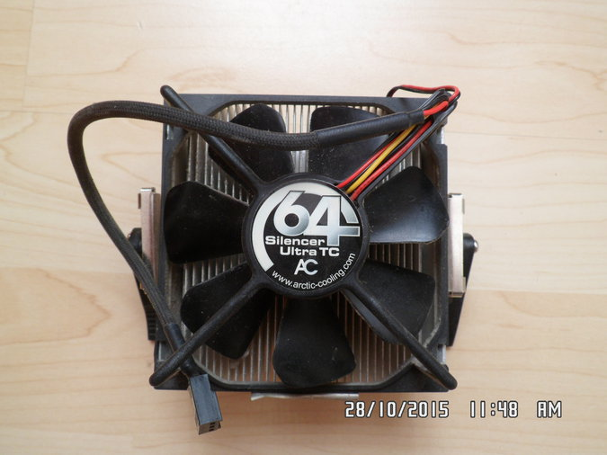 ARCTIC COOLING SILENCER 64 ULTRA TC