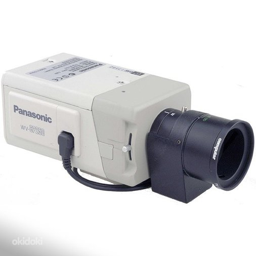 PANASONIC WV-CP250 COLOUR CCTV CAMERA WITH 570 TVL