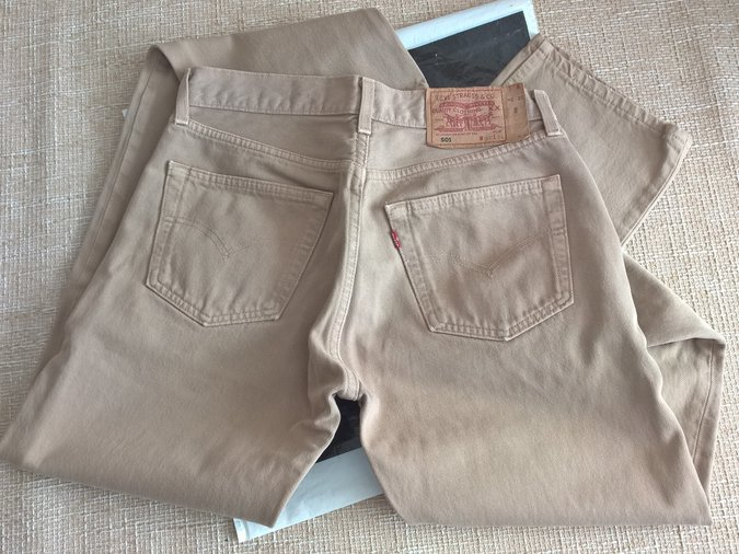 LEVIS 501 W32 (30) L34 MADE IN UK