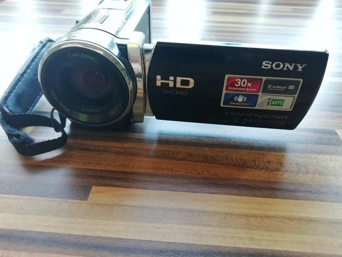e4d8a01a1d3 VIDEOKAAMERA SONY HANDYCAM HDR CX190