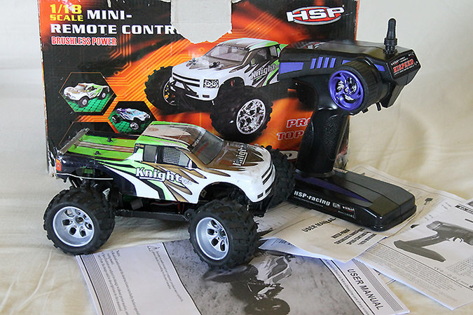 PULDIGA AUTO MONSTER TRUCK KNIGHT PRO+ 1:18 BRUSHLESS MOTOR 4WD HISPEED TOP 40 KM/H