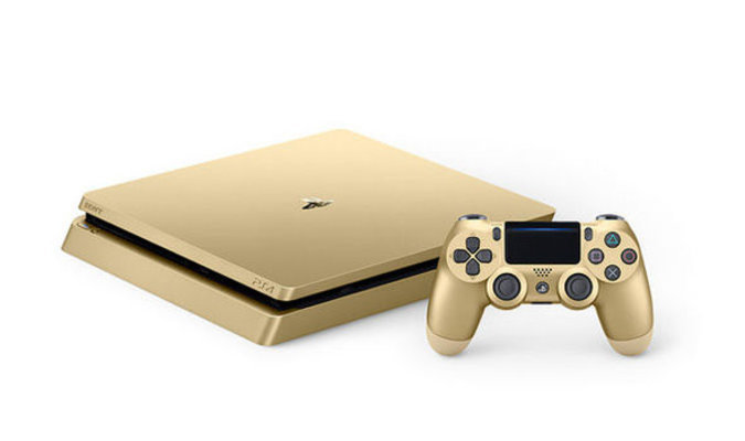 SONY PS4 SLIM GOLD PLAYSTATION 4