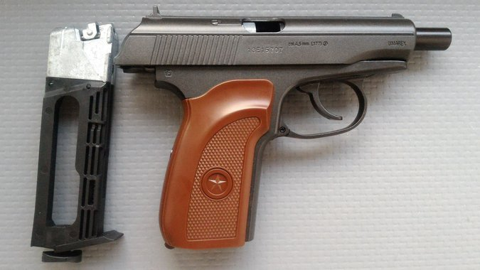 AIR PISTOLS MAKAROV-PM