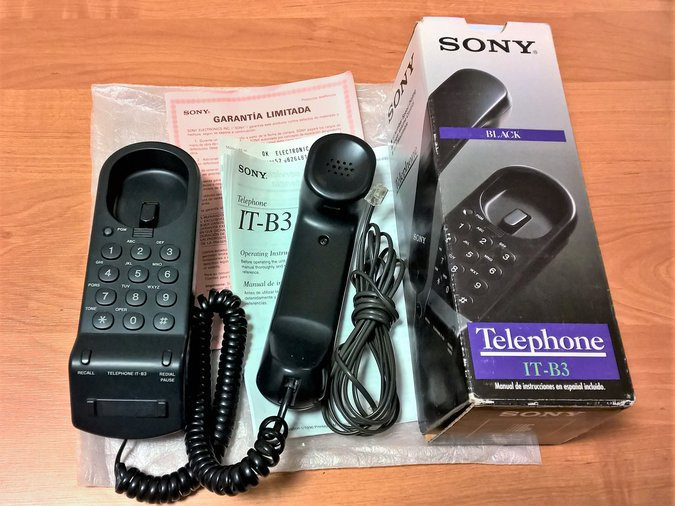 SONY TELEPHONE IT-B3 BLACK