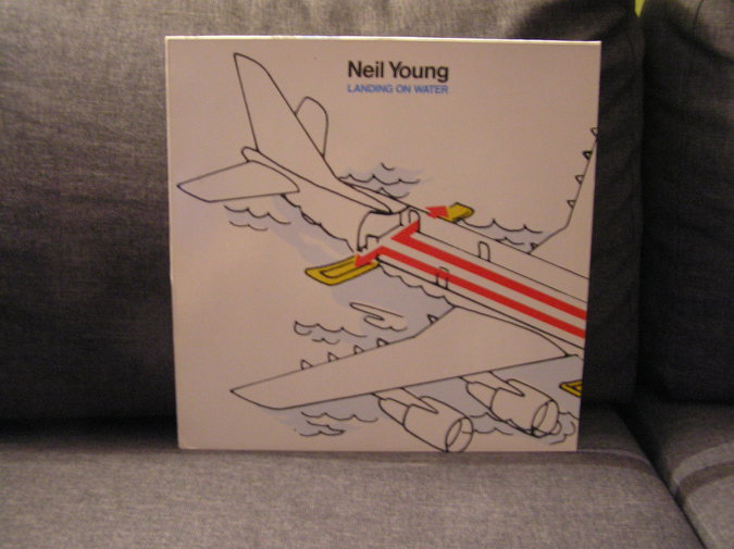 "NEIL YOUNG ""LANDING ON WATER"""
