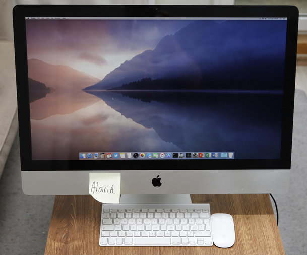 "27"" APPLE IMAC ( 16GB RAM, 500GB SSD )"