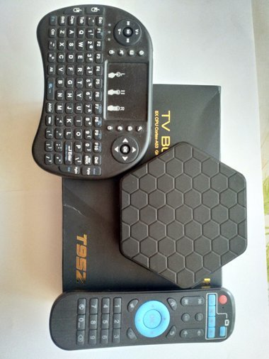 73b0312f86b SMART TV BOX! T95Z PLUS AMLOGIC S912 ANDROID 7.1.TASUTA TV!