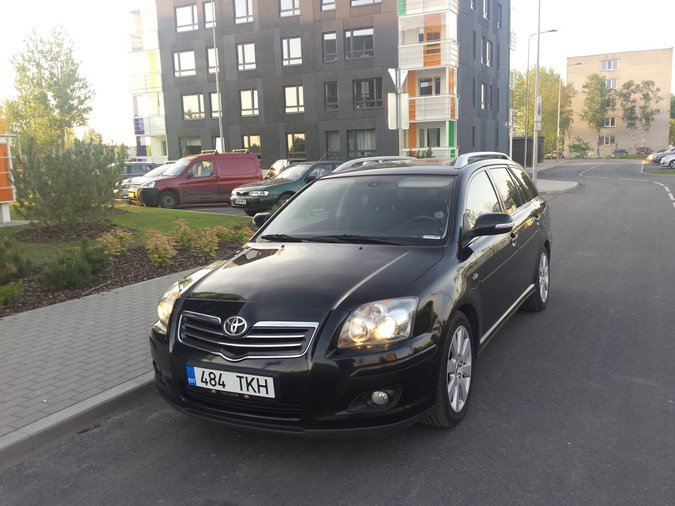 TOYOTA AVENSIS RESTAIL 2007 2.2 2ADFHV 130 kW