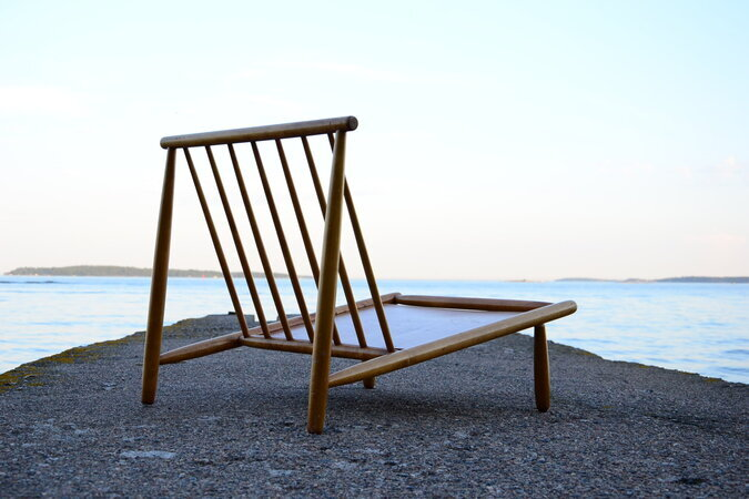 DOMUS LOUNGE CHAIR BY DUX. ALF SVESSON