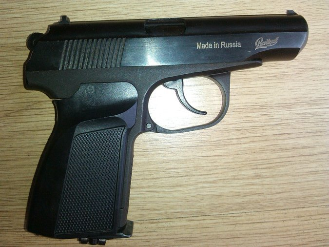 AIR PISTOLS BAIKAL MODEL MAKAROV IZH-654