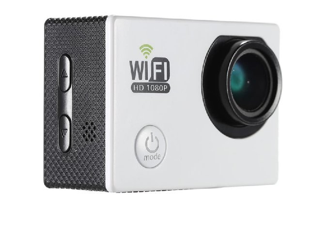 "FULL HD WIFI ACTION SPORTS CAMERA 2.0"" LCD,12MP,1080P,30FPS"