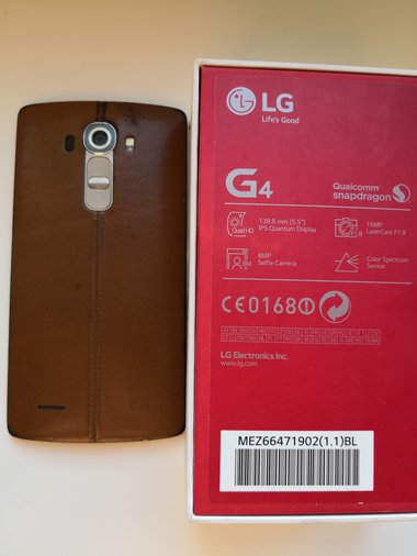 LG G4 H815 LEATHER BROWN 5,5`