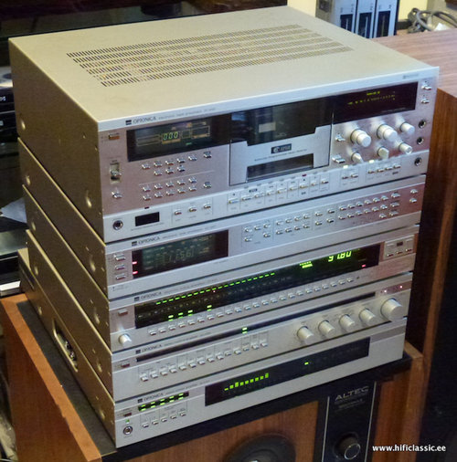 SHARP OPTONICA 9100 STEREO SET