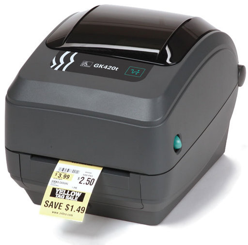 ETIKETIPRINTER ZEBRA GX420T REV 2 - WIFI - USB - BLUETOOTH - GARANTII