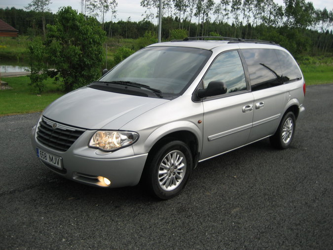 CHRYSLER VOYAGER LUXSURY VERSIOON FULL OPTIONS 2.8 CRD 110 kW -05