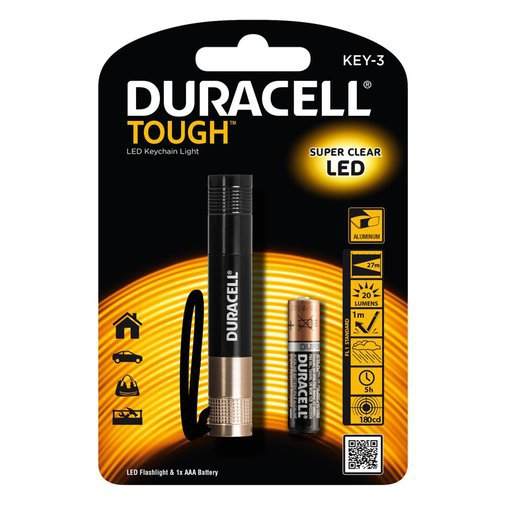DURACELL TOUGH KEY-3 TASKULAMP