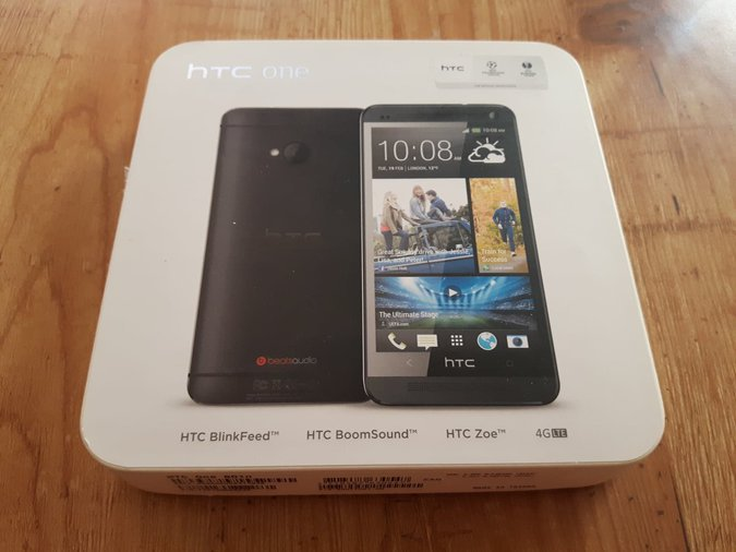 HTC ONE M7 801N 32GB BLACK