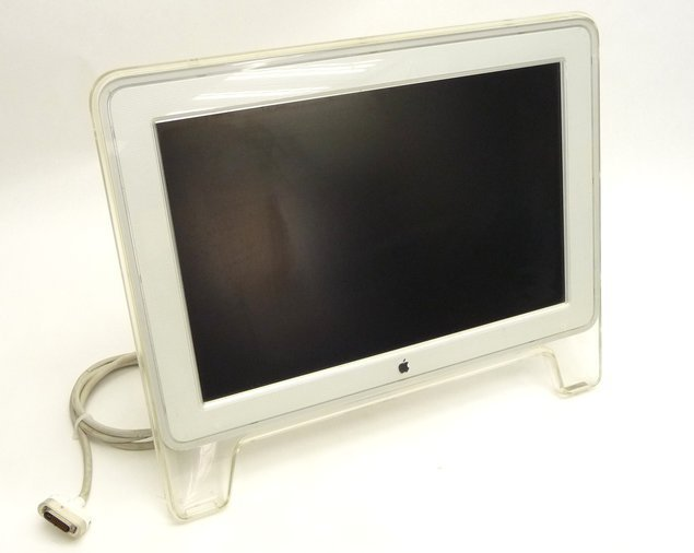 "20"" LCD MONITOR APPLE - APPLE CINEMA DISPLAY A1038 - GARANTII."