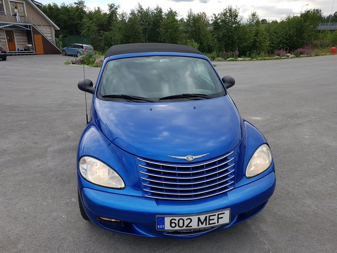 CHRYSLER PT CRUISER CABRIO LIMITED 2.4 105 kW