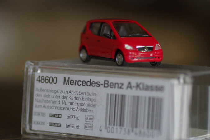 MERCEDES BENZ A-KLASS 1:87 SKAALAS