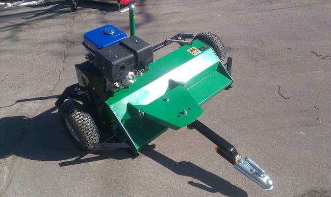 JÄRELVEETAV HOOLDUSNIIDUK ATV FLAIL MOWER 16 HP, NETTO PRICE, 4 DIFFERENT MODELS AVAILABLE