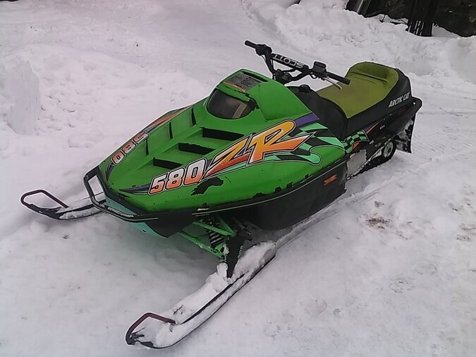ARCTIC CAT 580
