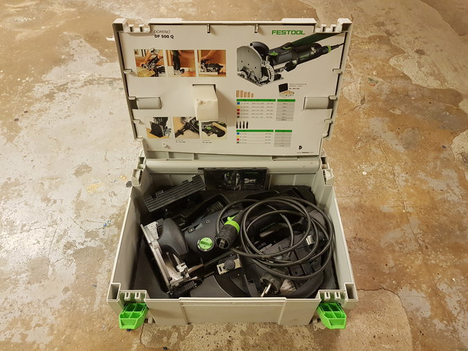 FESTOOL DOMINO DF 500 TAPIFREES