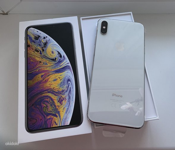 IPHONE XS MAX 64GB SILVER UUS