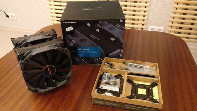 CRYORIG CPU COOLER R1 ULTIMATE(GARANTII)