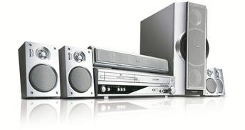 5.1 KODUKINO RESSIIVER + VHS + DVD + FM ALL-IN-ONE PHILIPS MX5100VR - GARANTII