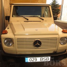MERCEDES-BENZ G300 ARMORED -93