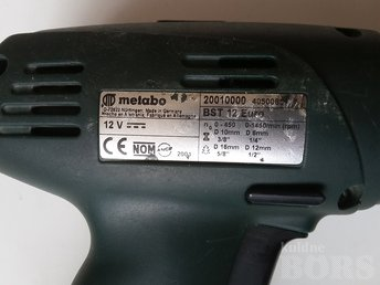 AKUTRELL METABO BST12 EURO: Met 12v