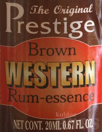 BROWN WESTERN RUM ESSENTS
