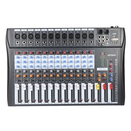 12-KANALIGA AUDIOMIKSER USB XLR 3-BAND-EQ UUS!