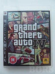 GTA 4 - GRAND THEFT AUTO IV - PS3