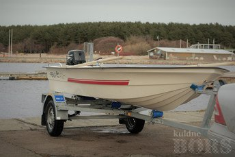 PAADIRENT: PERLA 402 + 9.8HP + TREILER
