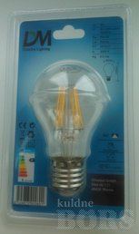 LED FILAMENT LAMP E27 6W