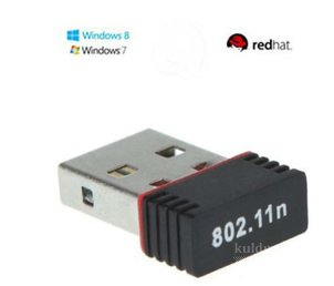 USB 2.0 MINI WIFI-ADAPTER, KÕIK VÕRGUD LAN 802.11 N/G/B 150MB/S