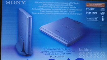 SONY VAIO PC GA-CRWD2 CD-RW/DVD-ROM