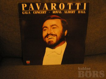 "LUCIANO PAVAROTTI ""GALA CONCERT AT THE ROYAL ALBERT HALL"""