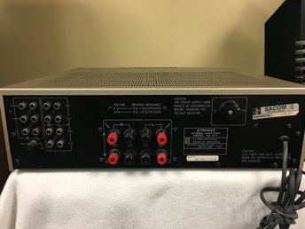PIONEER A-7 STEREO INTEGRATED AMPLIFIER