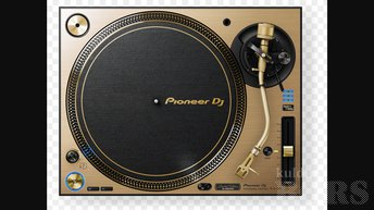 PIONEER PLX 1000 TURNTABLE GOLDEN LIMITED EDITION