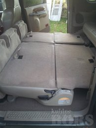 FORD EXCURSION -00: SLEEPER BED 2 WAYS, 2 PEOPLE