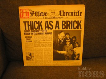 "JETHRO TULL ""THICK AS A BRIC"" AJALEHE VERSIOON"