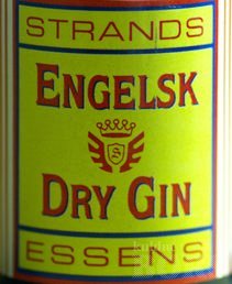 ENGELSK DRY GIN ESSENTS