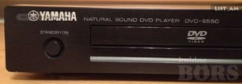 YAMAHA DVD PLAYER S550