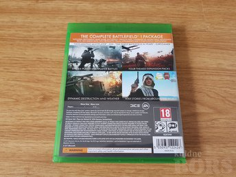 BATTLEFIELD 1 REVULUTION XBOX ONE