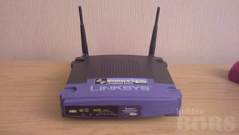 WI-FI ROUTER LINKSYS WRT54G