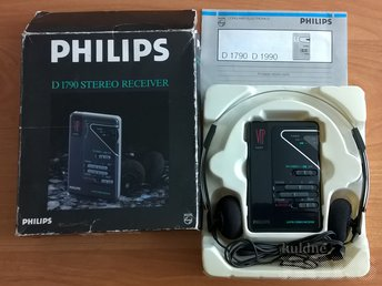 RADIO PHILIPS D 1790 STEREO RECEIVER
