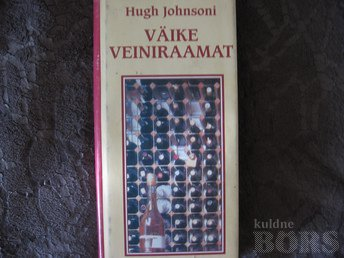 VÄIKE VEINIRAAMAT.HUGH JOHNSON/1998.A.304 LK.TASKUFORMAAT.